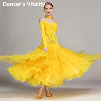 Latin Dance Competition Costumes Ladies Dress Modern Dresses Ballroom Dance Womans Adult Salsa Dancing Clothes Tango