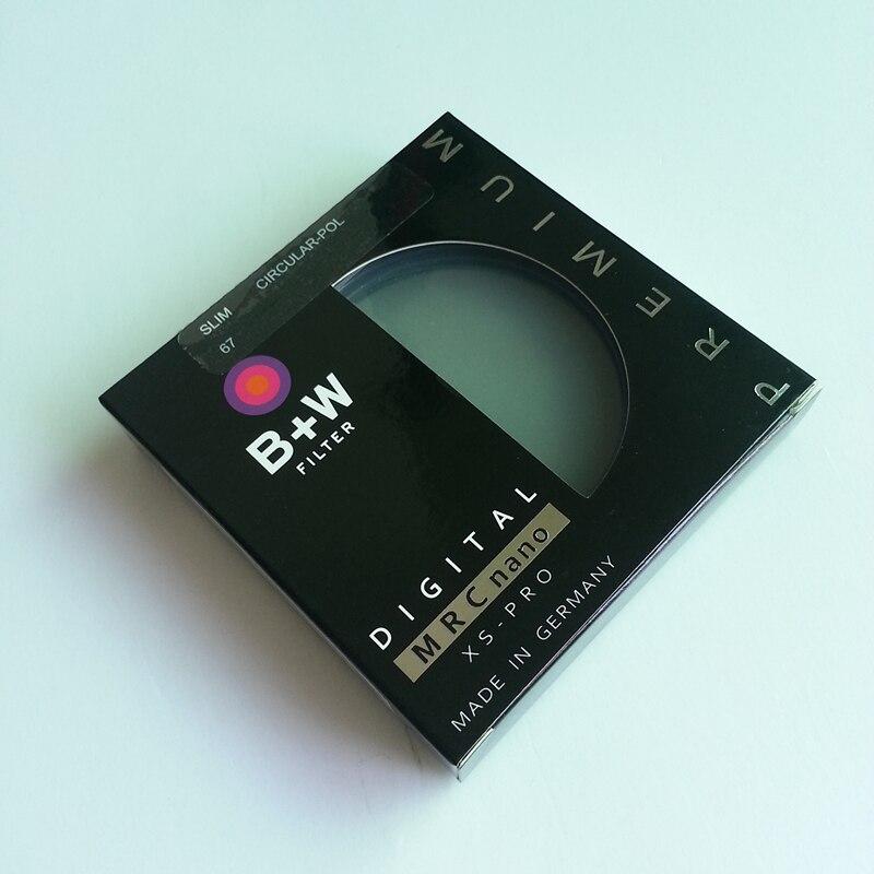 B + W CPL 67mm 72mm 77mm 82mm XS-PRO MRC Nano Dunst Filter Polarisator/Polarisierende CIR-PL Multicoat Schutz Für Kamera Objektiv
