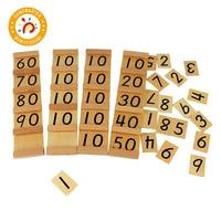 Montessori Teaching Math Toys Seguin Board Wood Toys Early Childhood Education Preschool Training