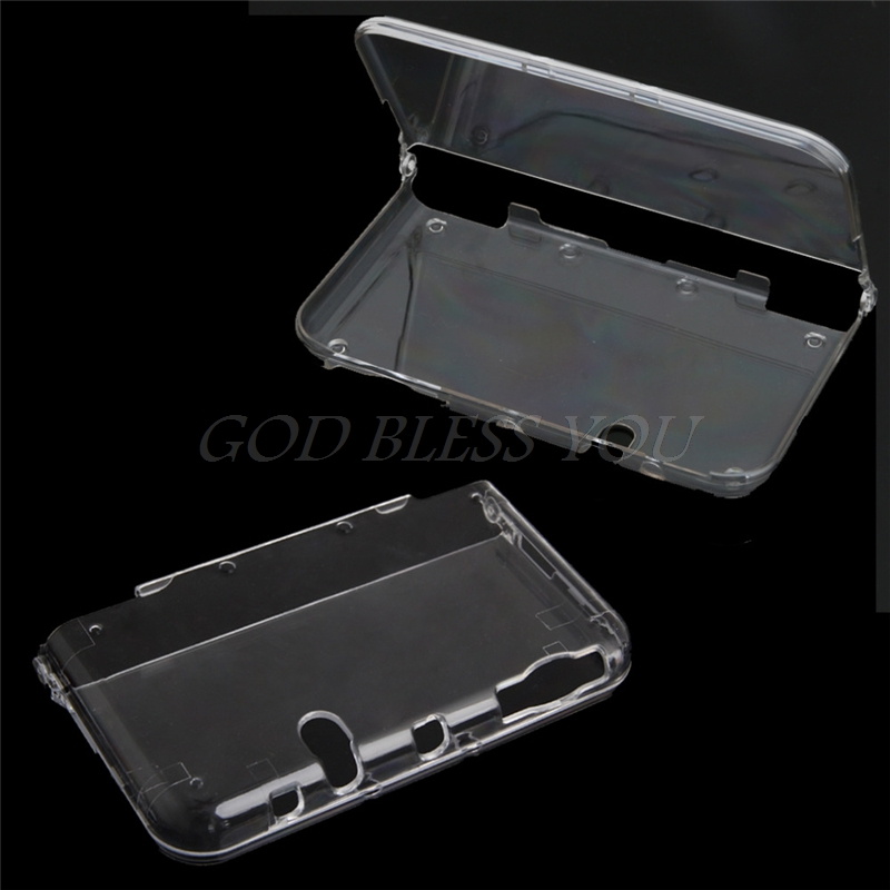 все цены на High Qualtiy Crystal Clear Hard Protective Shell Skin Case Cover For Nintendo 3DS XL/LL New