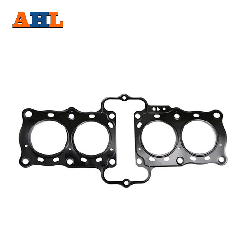 AHL Motorcycle Parts Head Cylinder gaskets Engine Cover Gasket Kit for Honda CBR 29 NC29 CBR400 RR 2 12251-MV4-004 replacement ahl motorcycle head cylinder gaskets engine starter cover gasket & oil seal kit for honda vt250 magna 250 racing replacement
