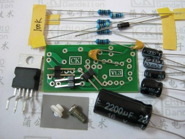 Freeshipping Mono TDA2030A amplifier board Single 18w power output(need weld by yourself) freeshipping cc2530 networking experiment board zigbee dev board