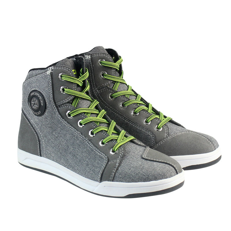 Boots For Motorcycle SCOYCO MT016 racing shoes Casual sport botas moto speed men riding automobile Protective Sneakers Gray scoyco mbt002 motorcycle bicycle men s leather short boots black size 44