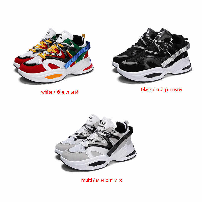 f1f5a3fa3 ... INS Vintage dad sneakers Men Shoes light breathable men casual shoes  zapatillas hombre casual tenis masculino