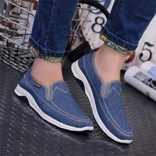 2019 Hot Sale New Men shoes Summer Autumn Man's Casual canvas Shoes Fashion Comfortable Sapatos Masculinos Slip-on Male Sneaker цены онлайн