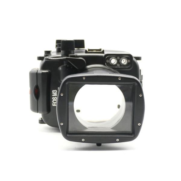 Meikon 40 m/130ft waterproof case for Canon EOS M3 (18-55mm Porta) Câmera Subaquática habitação