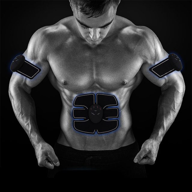 Wireless Electric muscle stimulator Abdominal machine ABS ems Trainer fitness Weight loss Body beauty slimming Massage  2