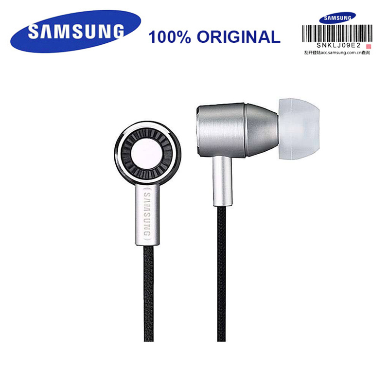 SAMSUNG SHE-C30 Wired Earphones In-Ear Sereo Support Official Verification Music Headset for Laptop/Smartphones S8 S8Plus ovevo s8 wired in ear earphones black