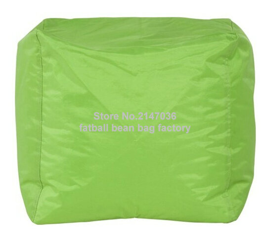 Green home furniture bean bag chair,high quality waterproof beanbag sofa ottomans