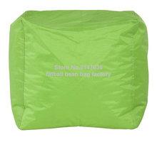 Green home furniture bean bag chair,high quality waterproof beanbag sofa ottomans