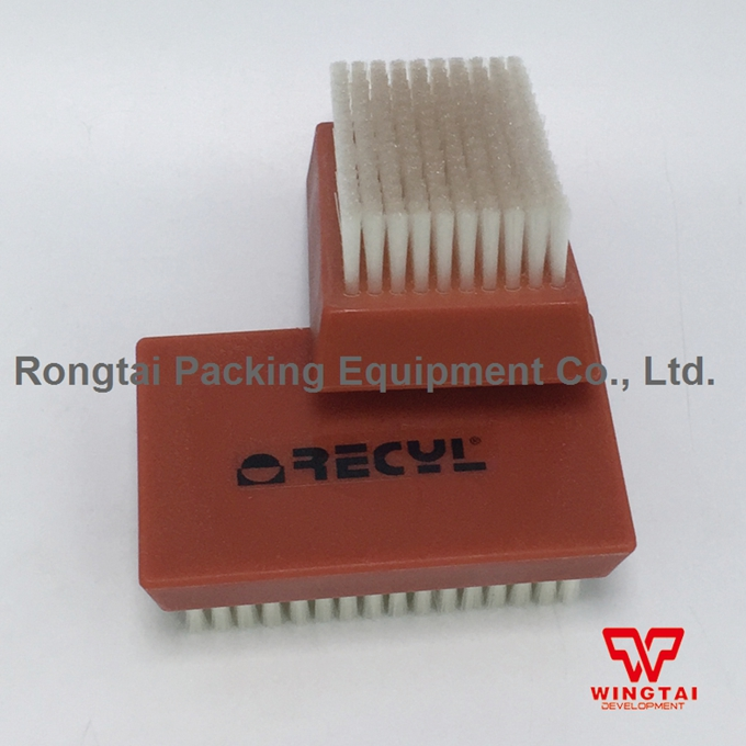 Nylon Cylinder Roller Brush Good Quality France RECY 11*7*4.5 cm Nylon Plate Cleaning Brush For Anilox Roll 2 pcs lot stainless steel wire brush for cleaning ceramic anilox roller