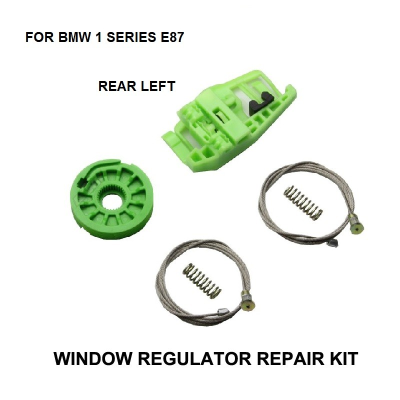 CAR WINDOW KIT FOR BMW 1 SERIES E87 WINDOW REGULATOR REPAIR KIT REAR LEFT 2003-2013