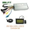 48V 1000W 30A Controller LCD3 Display Meter PAS Set E-bike Conversion kit Dual Modus Halle Sensor