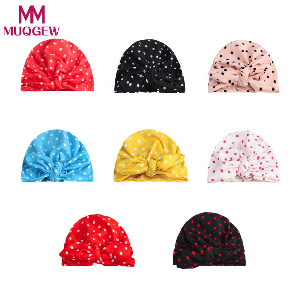 e6d3ad11ed5f Newborn Cute Winter Kids Baby Hats Knitted Wool Hemming Hat Beanie ...