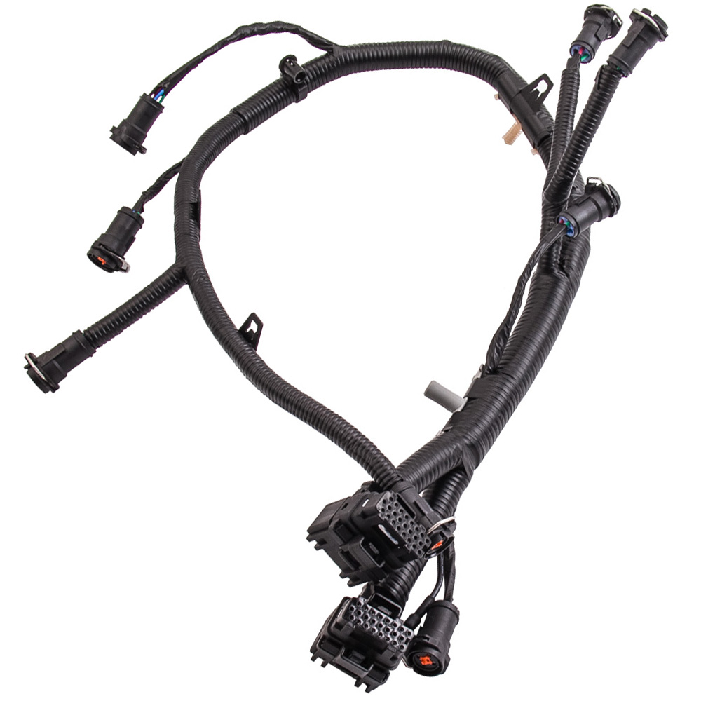For Ford Powerstroke Diesel Fuel Injector Wiring Harness F250 F350 F450 F550 5c3z 9d930 A 03 07 60l On Alibaba Group