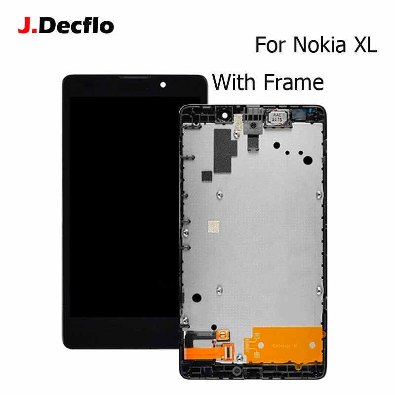Full Body Housing for Nokia XL Dual SIM RM-1030 - RM-1042 - Green -  Maxbhi.com | 800x800