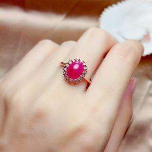 Image 2 - MeiBaPJ טבעי מיאנמר רובי חן 925 טהור כסף עגילי טבעת תליון שרשרת 3 חליפות בסדר למסיבת נשים