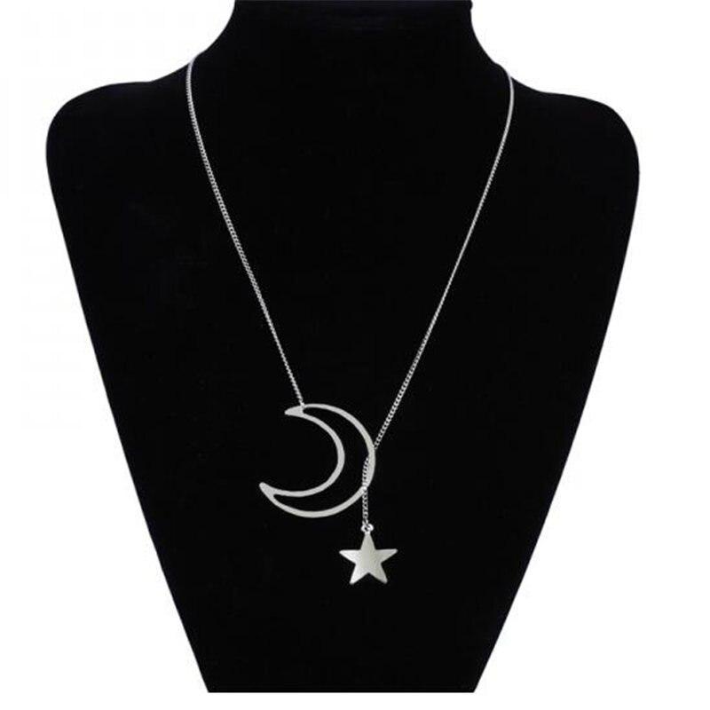 Модное женское ожерелье из сплава, s& Кулоны, колье, ожерелье золотого цвета с кристаллами, ожерелье для женщин, подарок - Окраска металла: x17silver