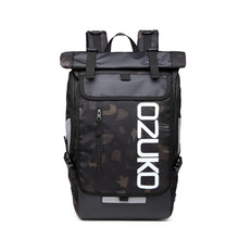 OZUKO Backpack Men's Designer Laptop Backpack High Quality Waterproof large 15.6 Inch Notebook Anti Theft Backpack Men Travel стоимость