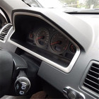Stainless Steel Style Car Interior Dashboard Console Panel Frame Cover Trim Decoration for Volvo XC90 1st Generation 2002-2014