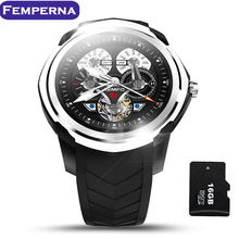 Android 5.1 Smart Watch Phone 512MB + 4GB Support Up to 32GB TF Card Heart Rate Monitor GPS WIFI Bluetooth Wrist Men Smartwatch