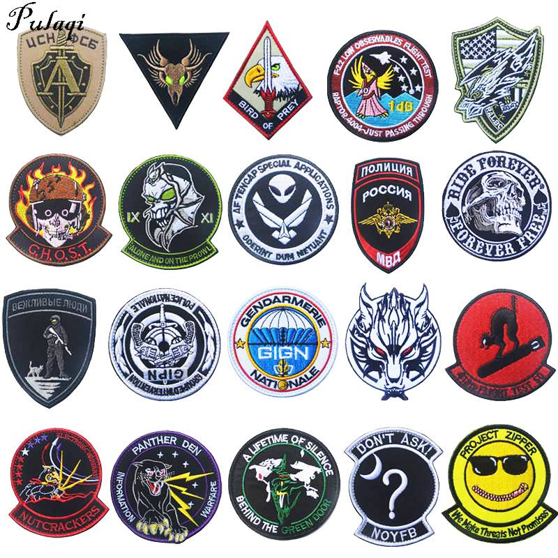 Stickers Iron-on Jeans Patches Black-Bomb Patch Backpack Badge Garment Applique