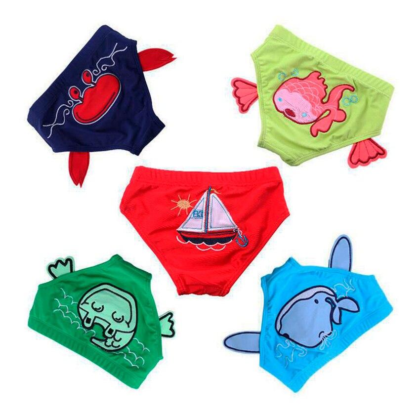 5 pz neonato fumetto tronchi di nuoto costume da bagno mini swimwear del bambino della ragazza