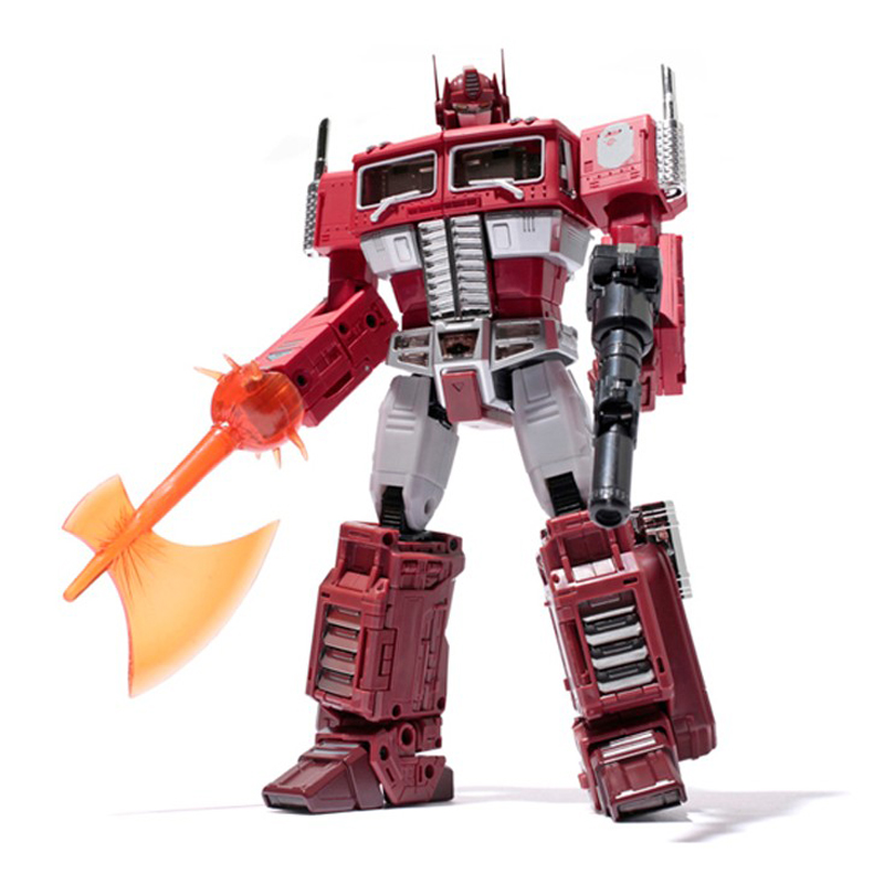(IN SOCK) Toy KO Version Of MP10R Optimus Prime Bape OP Red Version