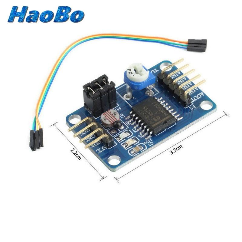 pcf8591 ad da converter module analog to digital conversion temperature illumination for arduino. Black Bedroom Furniture Sets. Home Design Ideas