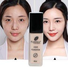 купить Face Liquid Foundation Make-up Base Foundation Bb Cream Concealer Whitening Moisturizer Oil-control Makeup по цене 384.77 рублей