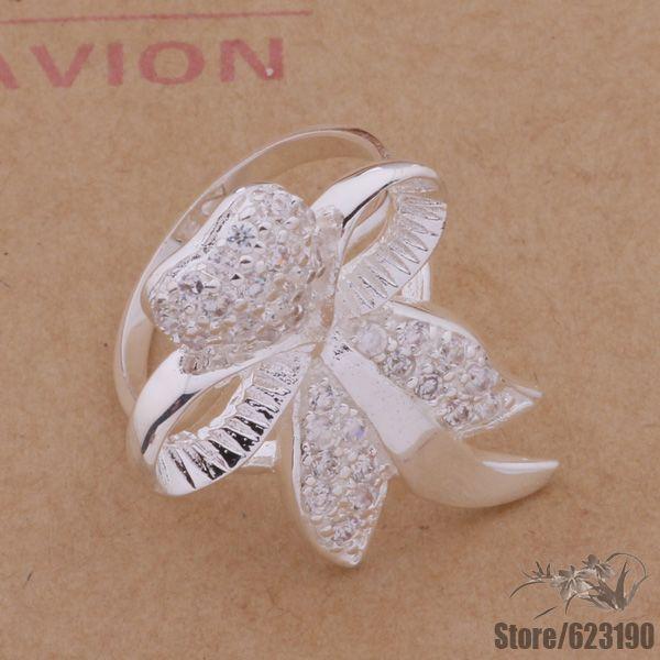 Ar152 925 Sterling Cincin Perak 925 Fashion Perhiasan Perak