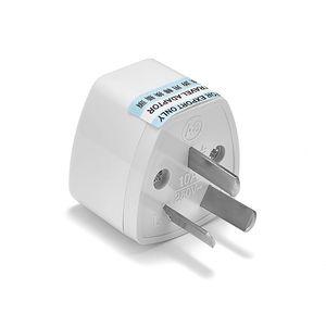 Image 5 - Convertidor de adaptador Universal de CA a UE, enchufe europeo y australiano para viaje