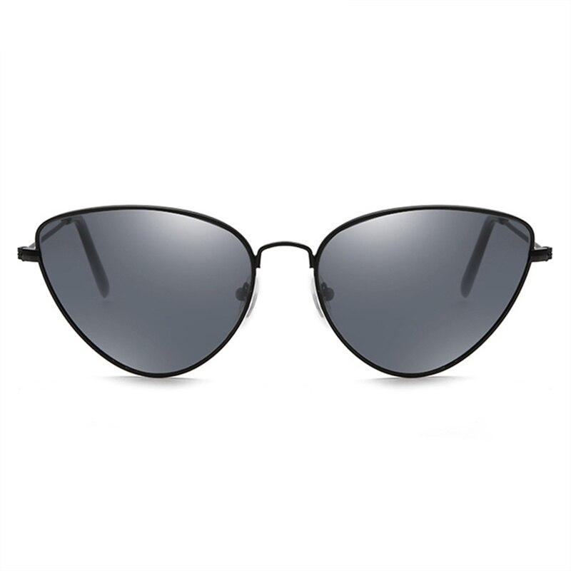4e8e474cf6f43 Óculos De Metal Gato Olho Sunglasse Mulheres Triângulo caleidoscópio Lente  Cateyes Óculos Feminino óculos de Sol Amarelo Preto Rosa Vermelho UV400 em  Óculos ...