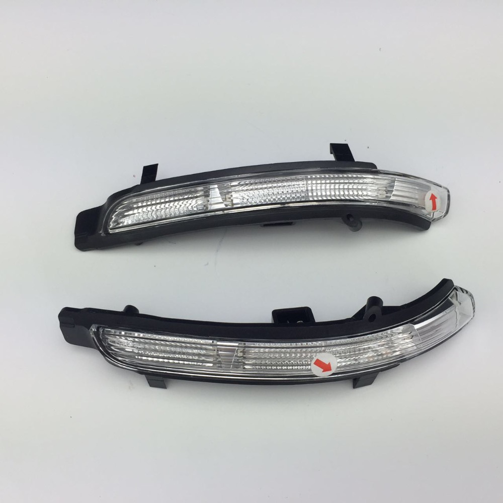 for Skoda Octavia Superb Front Turn Signal Light Left and Right Side Wing Mirror Indicator Lamp 3T0 949 101/3T0 102