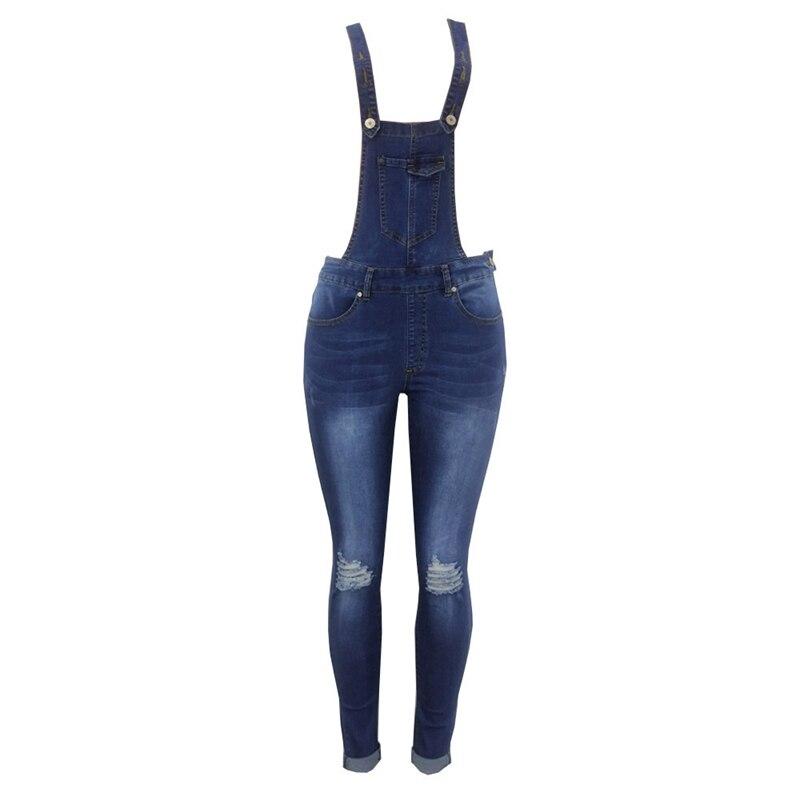 2018 New Arrival Sleeveless Jumpsuit Jeans Sexy Bodysuit Women Denim Overalls Rompers Girls Pants Jeans Ladies (1)