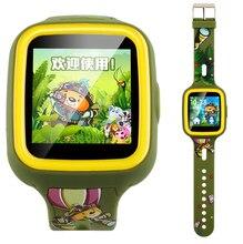 """1.33 """"เต็ม2.5d q5จีพีเอสsmart watchนาฬิกาเด็กmtk6261ป้องกันการสูญเสียs mart w atchเด็กsosฉุกเฉินที่มีมาร์ทโฟนappสำหรับandroid/ios"""