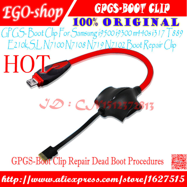 GPG S-Boot Sboot S boot Cable For Samsung Galaxy S3, S4,Note II, I9500, I9300, N7100 Boot Repair Clip