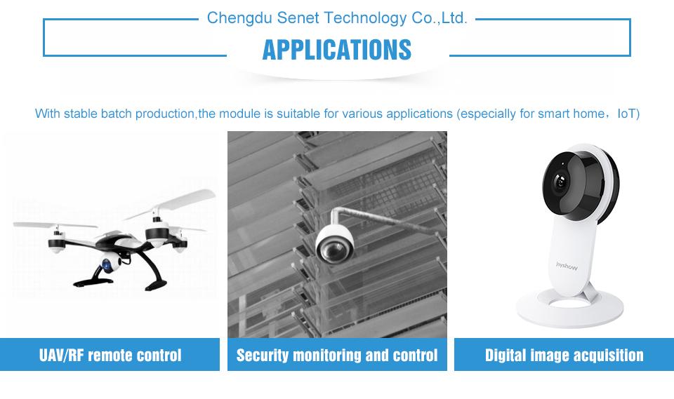 E01-ML01DP5 SPI nRF24L01+PA+LAN Module (3)