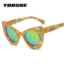 9622071a1c YOOSKE lunettes de soleil yeux de chat Vintage sauvage écaille de tortue  lunettes de soleil femmes rue lunettes de tir rétro épa.