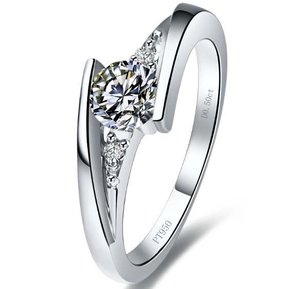 7d26060e07c Valentine Gift for Each Other Excellent Gold Couple Ring 0.75Ct Simulate  Diamond Ring Real 18K