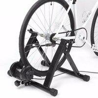 Регулируемый руль крытый велосипед тренер Стенд Велоспорт стационарное обучение Магнитная контроллер нержавеющие с удаленного рычагом го
