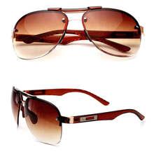 Солнечные очки Nerzhul в стиле унисекс, винтажные модные солнечные очки, авиаторы, солнечные авиаторы коричневого цвета