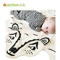 Baby Cartoon Blanket Kid Girl Boy Sleeping Wraps Infant Newborn Baby Blanket Swaddling Autumn Winter Blanket Baby Kawaii Wrap