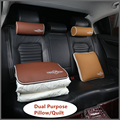 Car Styling Multifunctional Pillow Quilt Portable Dual Purpose Car Seat Cover Dual-use Cotton Cushion Foldable Travel Blanket
