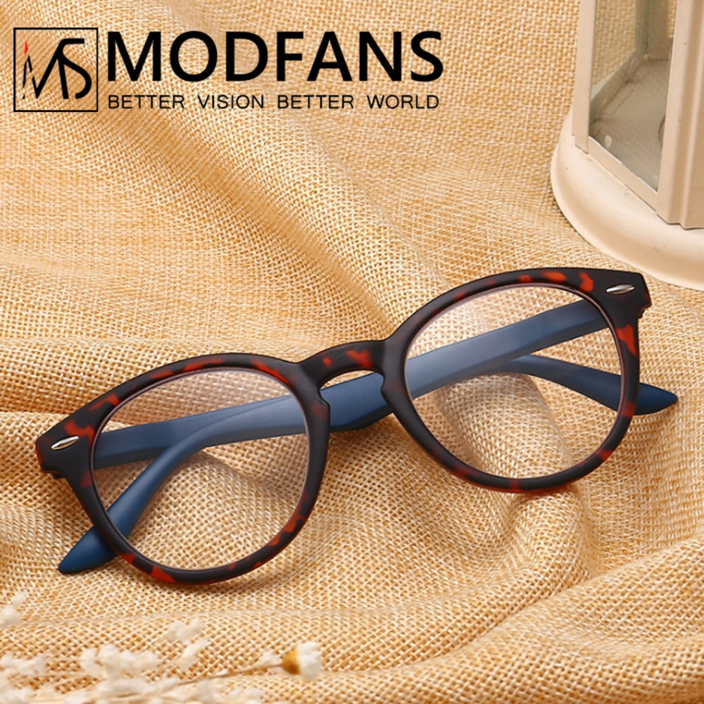 Reading Glasses Women Men Round Presbyopic Glass Leopard Retro Frame Eyeglasses Spring Hing Readers Glasses Diopter +1 2 3 4