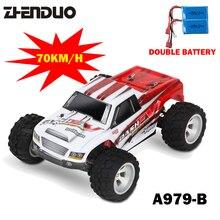 1:18 Double batterie 4WD RC Voiture DKRC A979-B 2.4G Radio Contrôle Haute Vitesse Camion RC Buggy Off-Route