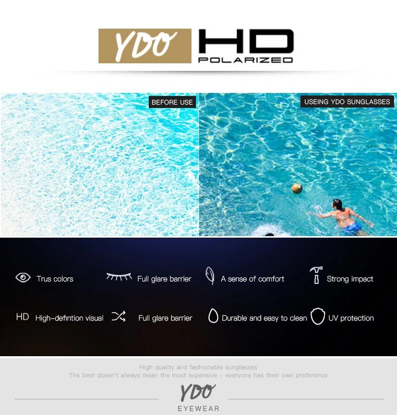 YDO Big Size Sunglasses Women 2019 Square Sunglasses Luxury Brand Vintage Sunglasses  Oversized Sun Glasses Fashion Shades UV400 (4)
