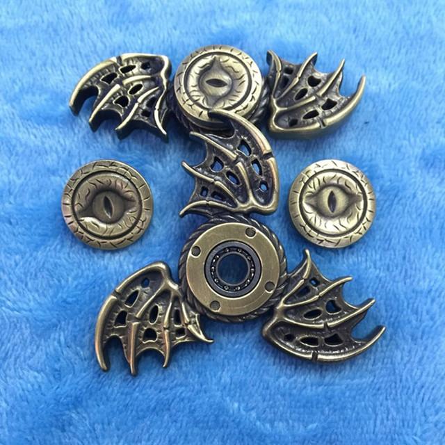 Game of Thrones Dragon Eyes Fidget Metal Hand Spinner Toys