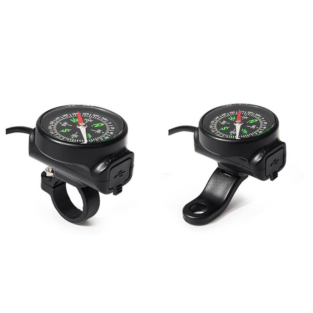 Motorcycle Mobile Phone Charger USB Waterproof Switch Car Charger With Compass USB 12 80V Universal Wholesale Purchasing-in Chargers & Service Equipment from Automobiles & Motorcycles