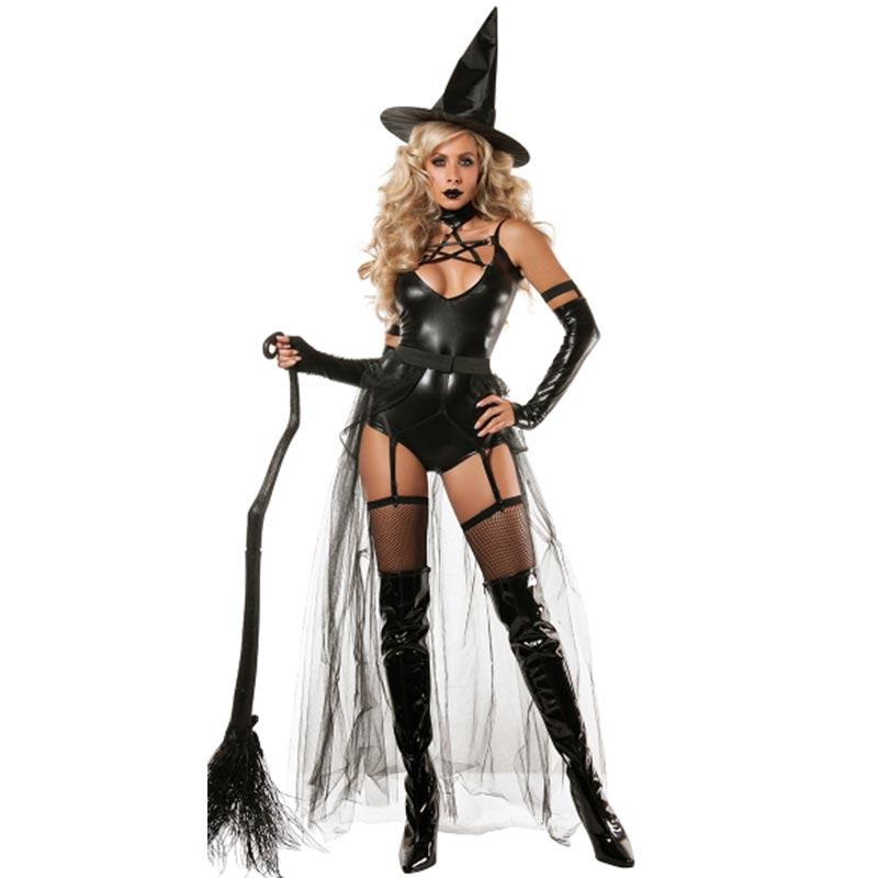 ชุดฮาโลวีนสำหรับผู้ใหญ่ Miss Witchcraft L15531